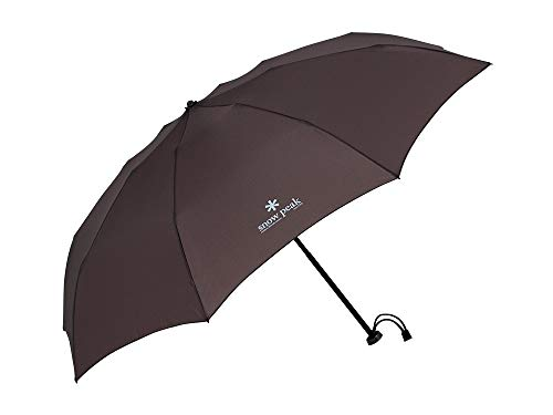 Snow Peak Ultra-Light Umbrella, UG-135GY, Gray, Carbon and Aluminum, Lifestyle Product, Designed in Japan, Lifetime Product Guarantee