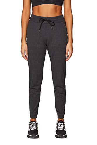ESPRIT Sports Damen Pants Coly ml Sporthose, Schwarz (Black 2 002), W38(Herstellergröße: M)