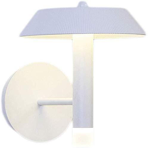 Eclairage mural Cleanlamp Chambre lampe de chevet étude Outlines exquis Artisanal Chambre Simple Couloir Aisle moderne Creative Art Fer + Asian force Lampes murales (Color : White)