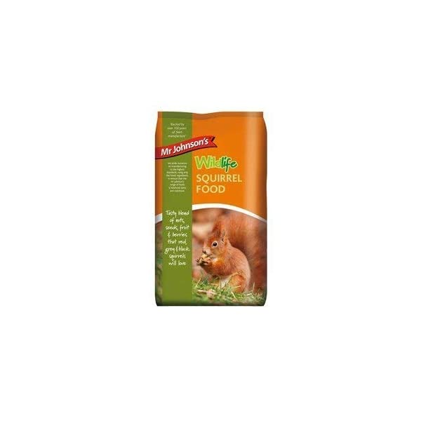 6 x Mr Johnsons Wildlife Squirrel Food 900g