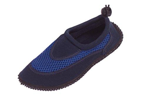Crivit® Kinder (Jungen/Mädchen) Schwimm- Bade- Aquaschuhe Blau 31
