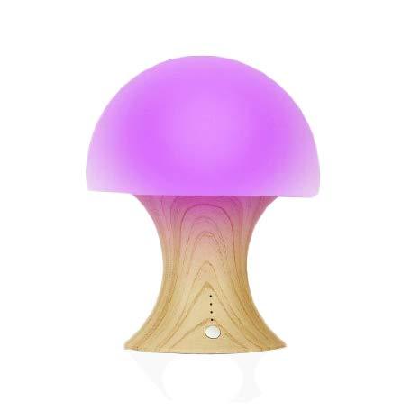 E-More Luce notturna multicolore LED fungo vivaio...