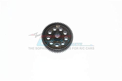 Axial Yeti Jr. Score Trophy Truck (AX90052) / Yeti Jr. Can-Am Maverick (AXI90069) Tuning Teile Harden Steel #45 Spur Gear 60T - 1Pc Black