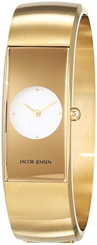 JACOB JENSEN ECLIPSE II DamenArmbanduhr Analog Quarz Edelstahl JJ480