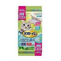 ユニチャーム 1週間消臭・抗菌デオトイレ ふんわり香る消臭・抗菌シート 20枚×6個入