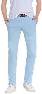 Slim Fit Jeans W32 Men/'s Robelli Designer Dark Navy Blue Cotton Denim Skinny