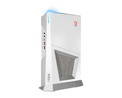 MSI MPG Trident 3 Arctic 10SI-015EU - Ordenador de sobremesa Gaming (Intel Core i7-10700, 16 GB RAM, 512GB SSD, 2TB HDD, Nvidia 1660 Super Aero ITX OC, Windows 10 Home) Blanco