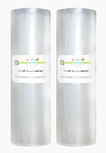 "2 Pack of Vacuum Sealers Unlimited - 11"" x 50"