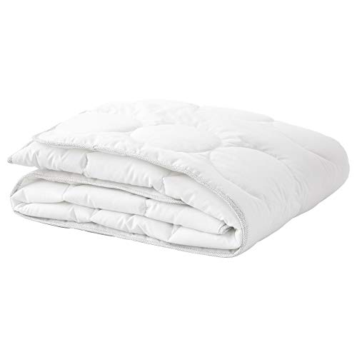 IKEA.. 103.730.61 Crib Comforter, White, Gray