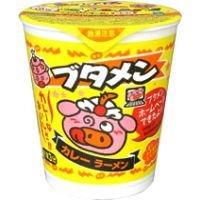 おやつカンパニー ブタメン カレーラーメン 即席カップ麺 30個入り1BOX