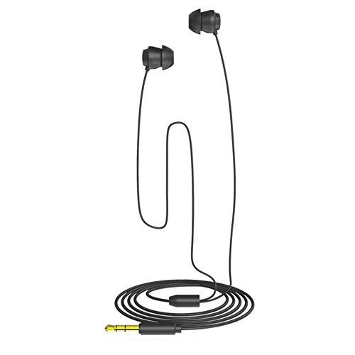 Diyeeni Slaapkoptelefoon, in-ear oordopjes van flexibele siliconen, ultra-licht, geluidsisolerende koptelefoon met 3,5 mm stekker voor slapen, yoga, meditatie, sport, vliegreizen