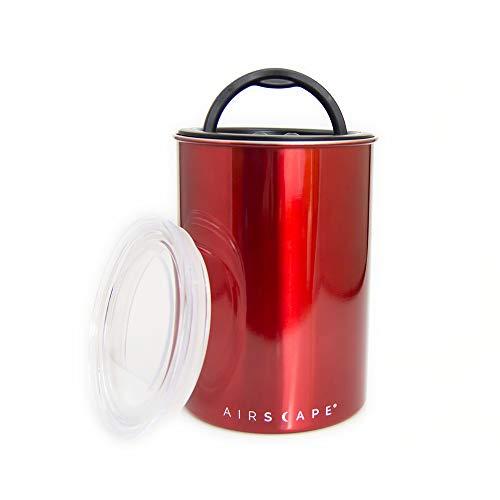 AirScape Vakuumdose Edelstahl 500 gr. (rot/red)