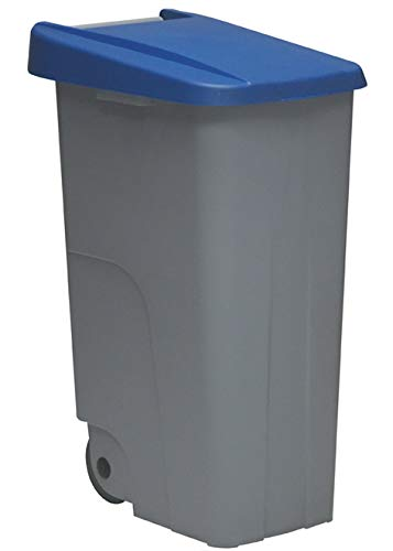 23450.415   Contenedor Eco, 110 L, Azul, Polipropileno, único