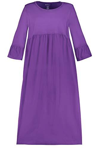 Ulla Popken Damen große Größen Kleid Brombeere 62/64 718791 54-62+