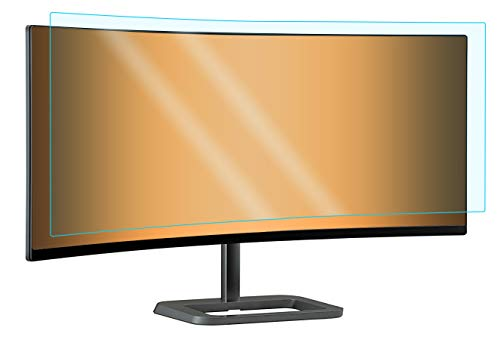 """Photodon Blue Light Cut Screen Protector For The LG 34UC99 / 34UC88-B 34"""" Ultra-Wide Curved Monitor with Kit"""