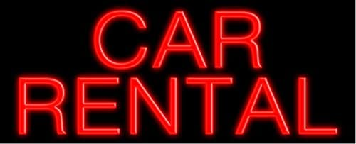 35% OFF Car Rental Long-awaited Glass neon Sign Made in #10216 USA
