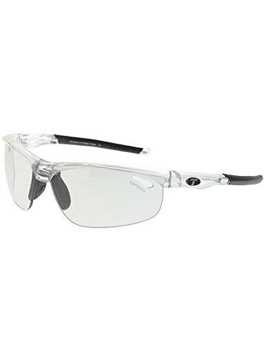 Tifosi Optics Veloce Photochromic Sunglasses Crystal Clear/Light Night, One Size - Men's