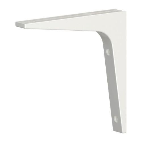 Ikea Ekby Lerberg/ /Staffa Bianco/ /28/cm