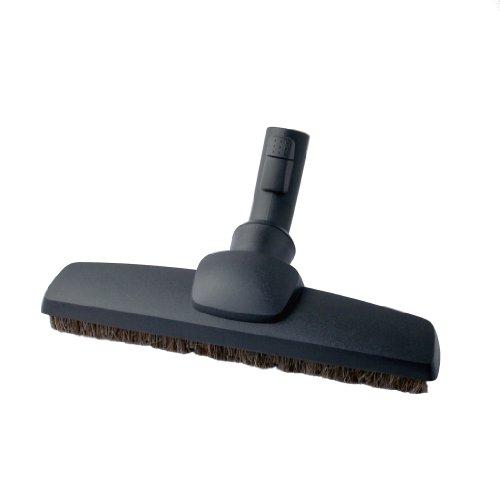 AEG AP240 Silent Parketto Hartbodendüse (Parkettdüse, optimale Saugleistung, 100% Naturhaar, schonende Reinigung, leise, passend für AEG-Sauger mit 32 mm Rundrohr, schwarz)