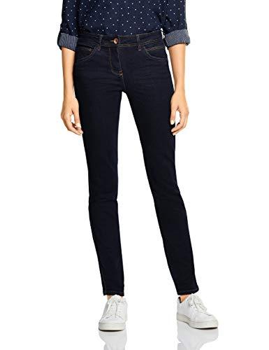 Cecil Damen 372582 Charlize Slim Jeans, Blau (Rinsed wash 10236), W33/L30 (Herstellergröße:33)