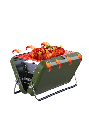 Akin Mini Grill Holzkohle Outdoor BBQ...