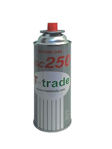 ALTIGASI 1 Stück Gaskartusche GPL 250 GR Art.KCG250 Ideal Schweißen oder Backofen, geeignet für CAMPINGAZ cp250 Brunner