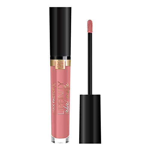 Max Factor Lipfinity Velvet Matte Matte Langdurige lippenstift met verzorgende werking 045 Posh Pink