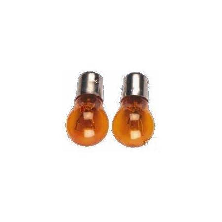 1 Paar Glühlampen Orange Mit E Zeichen Für Blinker Leuchtmittel Auto
