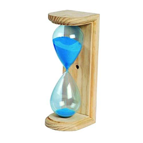 Backbayia 15 Minuten Sanduhr Stundenglas Zeitmesser Timer für Kochen, Lesen, Büro, Sauna