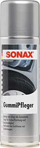 SONAX GummiPfleger (300 ml) reinigt, pflegt & hält alle Gummiteile elastisch, verhindert festfrieren & festkleben von Gummidichtungen | Art-Nr. 03402000