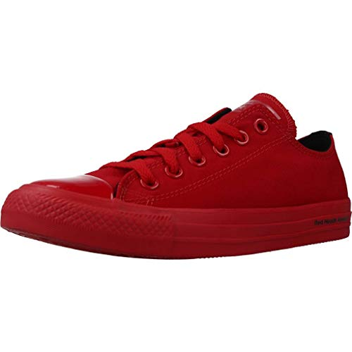 Converse Calzado Deportivo CTAS OX para Hombre Rojo 36.5 EU