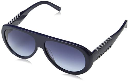 TOD'S Tods Sonnenbrille TO0209-90W-57 Aviator Sonnenbrille 57, Blau