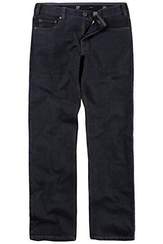 JP 1880 Herren große Größen Jeans, Regular Fit, 5-Pocket, elastischer Komfortbund Black 56 703353 11-56