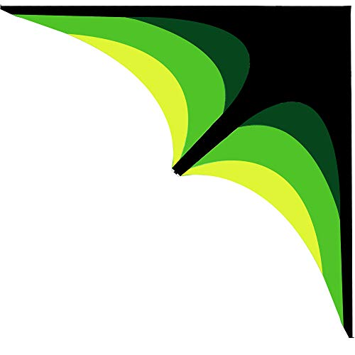 """K-MLICE 2021 New Kites for Kids and Adults Easy to Fly 79""""Large Delta Kids Kite Huge Strong Beach Kites for Boys/ Girls Outdoor Game/ Beach Trip with 300ft Kite String Green Easy for Beginner"""