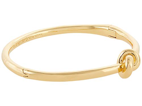 Kate Spade New York Sailors Knot Hinged Bangle Gold One Size