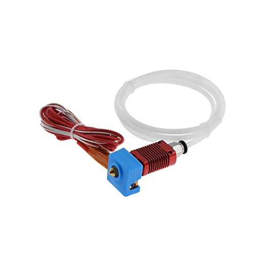 Nologo MZHE 3D Printing Accessories CR-10 Printer Replacement Parts Assembled Hotend Kit 1.75Mm 0.4Mm Mk10 Aluminum Extruder Hot End Suitable for most printers, making your printer q