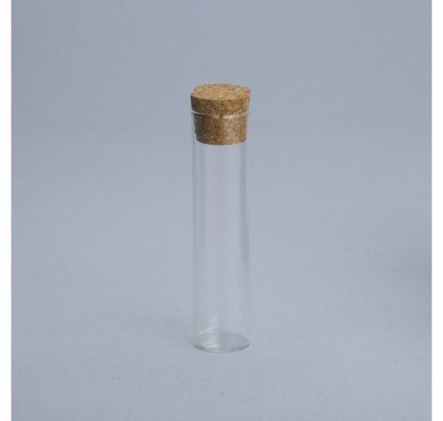 STOCK 50 PEZZI Portaconfetti porta confetti provetta in vetro con tappo in sughero