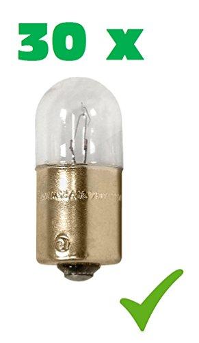 Preisvergleich Produktbild PRAKTISCHES 30er Set! (Grundpreis: 0, 55 EUR / STK) 30 x R5W 24V 5W BA15s Glühlampe Glühbirne Stopplicht- Blinklicht- Schlusslicht Positions-Licht Kennzeichen-Lampe Halogen-Lampe Auto-Lampe