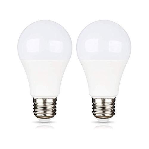 E27 12V LED 9W Warmweiß 3000K für Wohnmobil/Gartenhaus, E27 24 Volt Garagelampe, 270 Grad, AC/DC 12V-85V LED-Lampe für 12V-Photovoltaikanlage/Caravan/Kabine, Nicht Dimmbar, 2er-Set