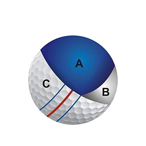 HUANGDANSEN Golf Golfbälle Triple Track Langstrecken Golfball | Golfbälle