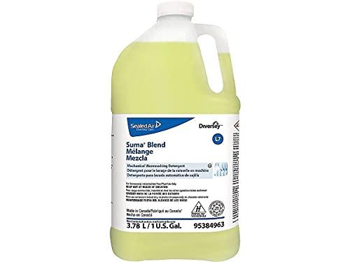 Diversey 95384963 Diversey Suma Blend L7 Dishwasher Detergent Liquid, Original Scent