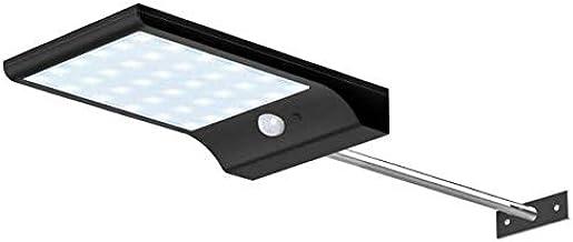 Outdoor Street Waterproof Wall Lights 450LM 36 LED Solar Power Street Light PIR Motion Sensor Light Garden Security Lamp