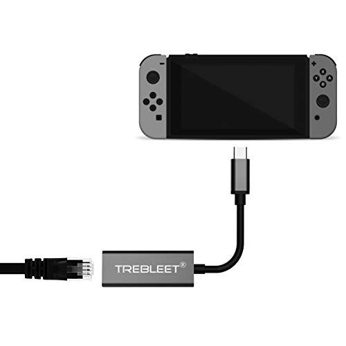 Nintendo Switch本体専用 有線LANアダプター【ドック不要】