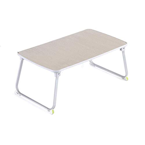 WTT Computerbureau om het bed op de studentenkamer te maken, eenvoudige luie klaptafel (kleur: 60 * 36 * 27,5 cm)