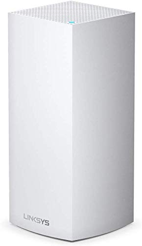 Linksys MX5300 Velop 6 mesh tri-band whole home WiFi system (AX5300 WiFi router / extender, 260 m² coverage, up to 4x faster speeds, 50+ devices, 1 node, white)
