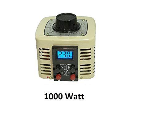 LCD Regeltrafo 1000Watt 4A Ringkerntransformator Stelltrafo Spartrafo Ringkerntrafo Transformator Ringkern Trafo