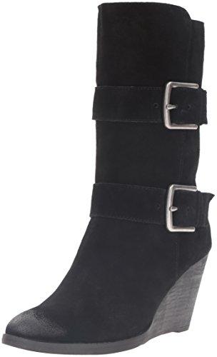 Very Volatile Women's Lars Western Boot, Black, 7.5 B US