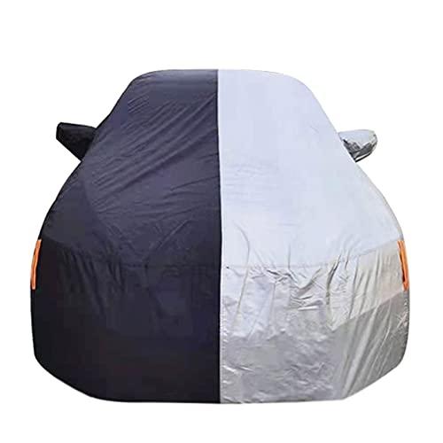 DENGJU Funda Coche Cubierta de Coche para Todo Clima Compatible con Audi S6 S7 S8 Cubierta de Coche Transpirable Cubierta de Coche Impermeable para Todo Tipo de Clima Cubierta a Prueba