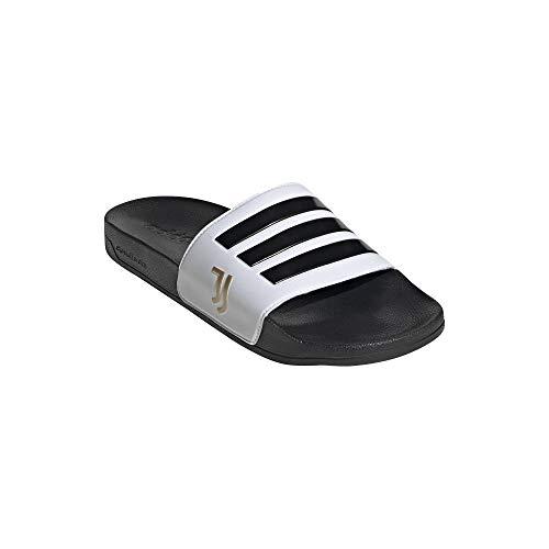 Adidas, ciabatte da bagno Juventus Shower Adilette (43, bianco/nero)