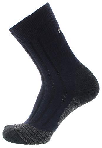 Meindl Damen Socken MT8 Lady Merino Extra Trekkingsocken Blau 42/44